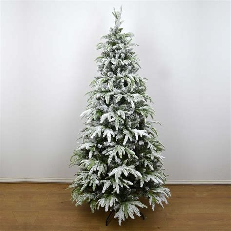 photos of atrificial christmas tress with snow real look designer artificial tree snow covered decorations ebay