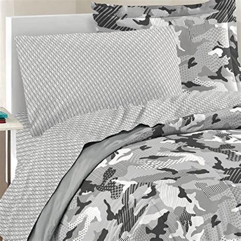dream factory bedding dream factory casual geo camo camouflage comforter set full grey home garden linens