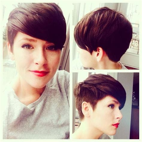 short back and sides pixie hair styles 20 chic pixie haircuts ideas popular haircuts