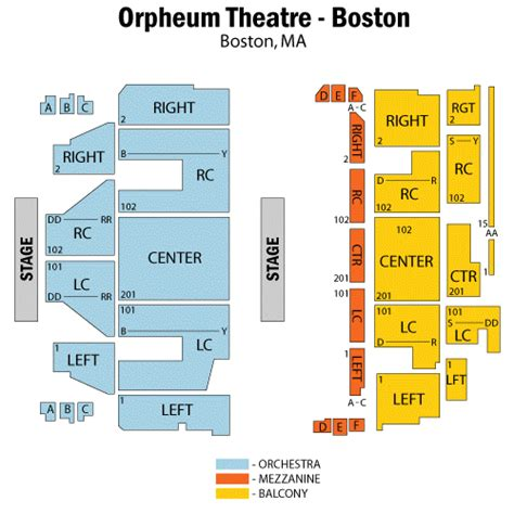 orpheum floor plan orpheum theater boston floor plan gurus floor