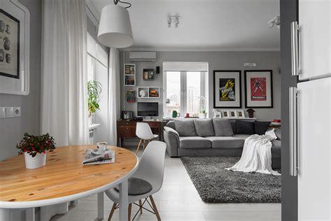 Beau salon salle a manger 16m2 #1: Small-Bachelor-Pad-Idea-Designed-in-a-Modern-Retro-Style-homesthetics-4.jpg