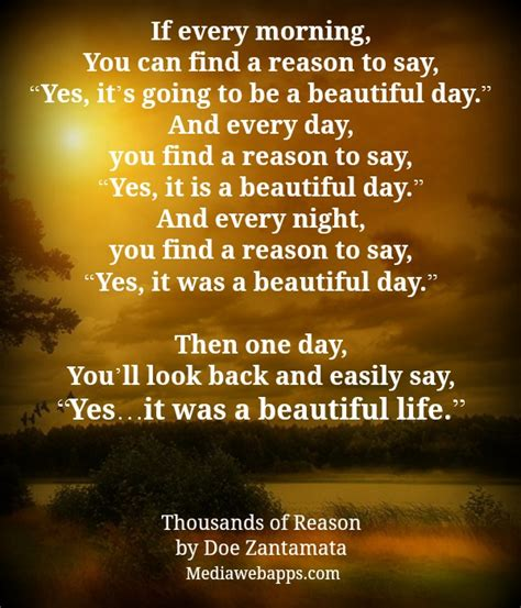 s day reason beautiful day quotes and sayings quote addicts