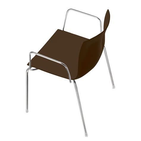 stuhl catifa stuhl catifa 46 mit armlehnen in braun kaufen home24
