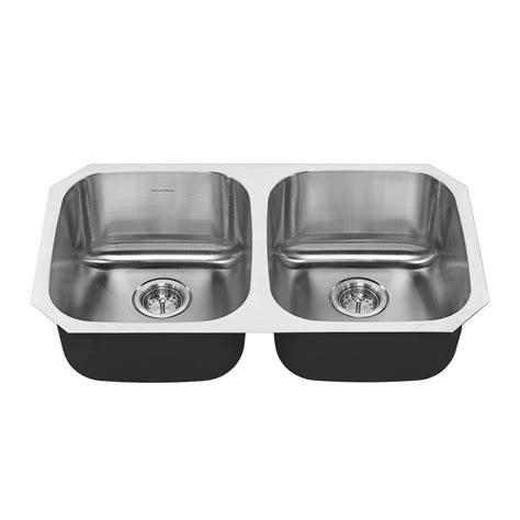 american standard stainless steel kitchen sink american standard portsmouth undermount stainless steel 32