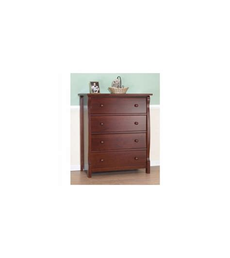Sorelle Dresser by Sorelle Tuscany Princeton 4 Drawer Dresser In Cherry