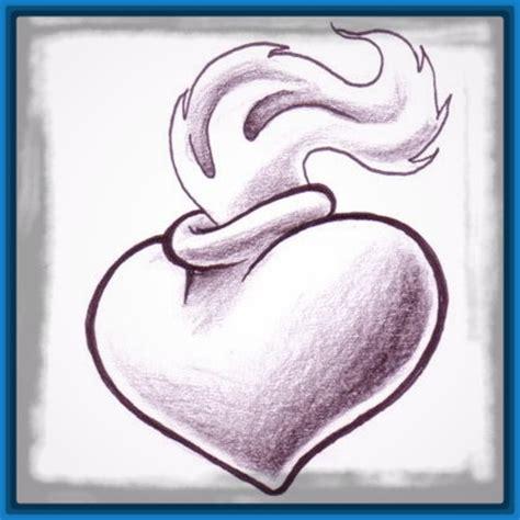 imagenes a lapiz sombreadas imagenes de corazones sombreados para cupido dibujos de