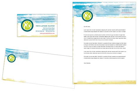 charity letterhead template non profit banner quotes quotesgram