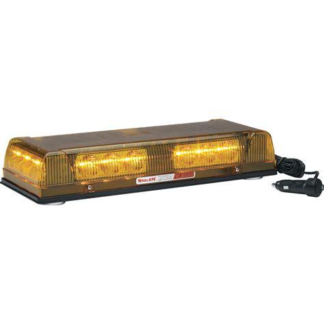 whelen led light bar whelen engineering responder lp mini lightbar magnetic