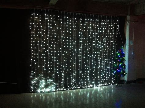 fairy curtain lights 3mx3m 360led waterfall led string outdoor christmas