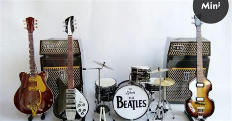 Miniatur Set Alat Band miniatur alat musik set mini almus