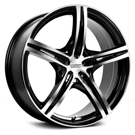 with wheels cruiser alloy 174 917mb eclipse wheels gloss black with