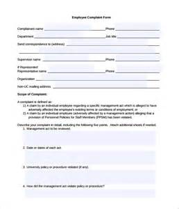 Customer Complaint Procedure Template by 29 Hr Complaint Forms Free Sle Exle Format