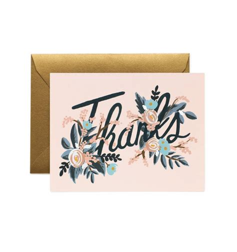 greeting card for woodland greeting card by rifle paper co made in usa
