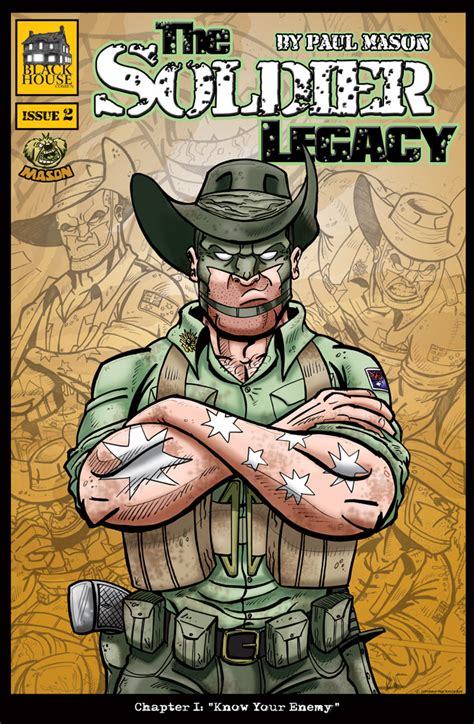 the soldier s legacy soldiers and single books cover to soldier legacy issue2 by pmason83 on deviantart