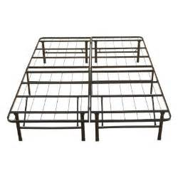 Metal Platform Bed Frame King California King Rest Rite Metal Platform Bed Frame Mfp00112bbck The Home Depot