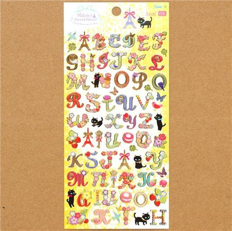 lettere dell alfabeto decorate adesivi lettere dell alfabeto decorate in stile francese