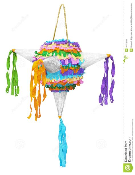 Gamis Crepe Photeto pinata made of colorated crepe paper stock image image