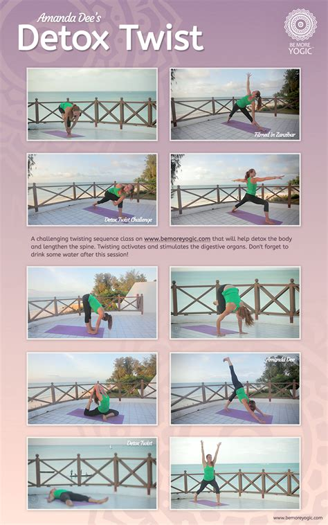 Detox Sequence by Take This Challenging Twisting Sequence Class That Will
