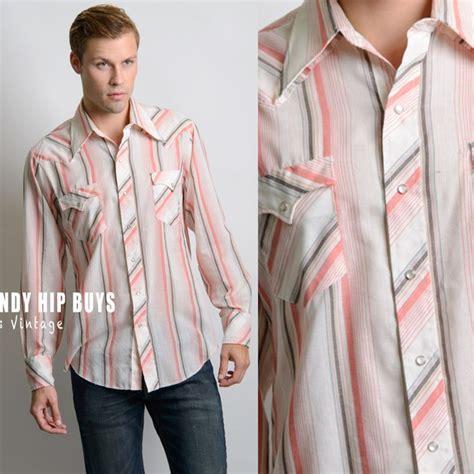 Stripes Shirt B L F vintage western shirt s stripe shirt s vintage