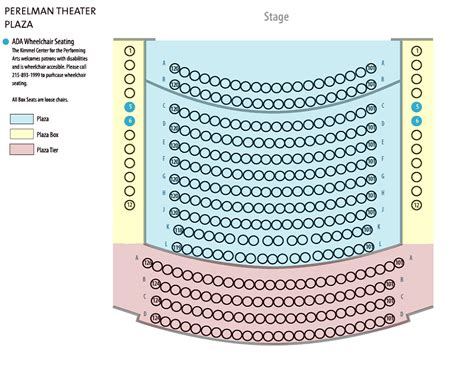 Build My Own Floor Plan kimmel center seating charts view seat selection