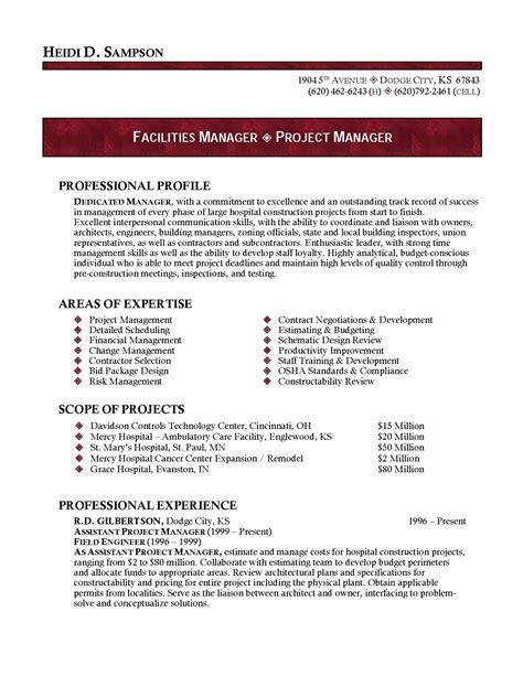 pastor resume template resume ideas