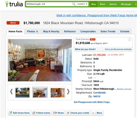trulia launches real estate valuations in beta inman news