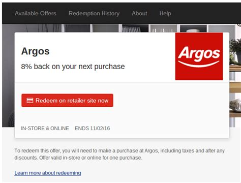 Can I Use My Argos Gift Card Online - 8 cashback at argos for nationwide card holders with simply rewards nationwide