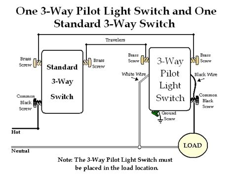 3 way switch with pilot light diagram 3 free engine