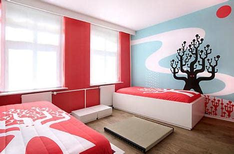 artistic bedroom ideas artist designed interiors art hotel bedroom designs