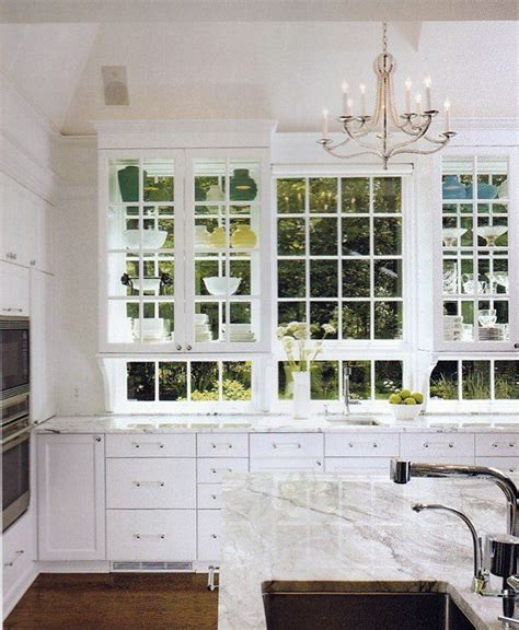 Glass Wall Kitchen Cabinets by Glass Front Kitchen Cabinets Transitional Kitchen