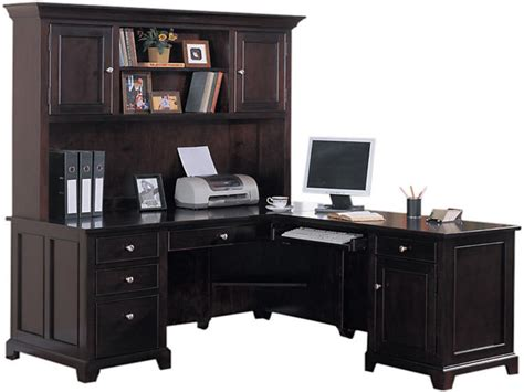 office desk with hutch l shaped office desk with