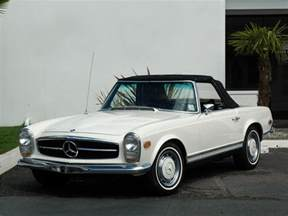 1969 mercedes 280sl 1969 mercedes 280sl roadster 117010