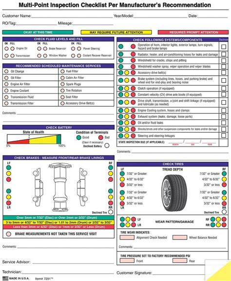 Automotive Inspector by Generic Multi Point Inspection Form