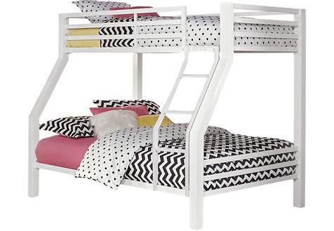 Disney Princess Bedroom Furniture xander white twin full bunk bed bunk loft beds metal