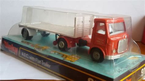 boat trailer hire liverpool dinky toys schaal 1 48 aec with flat trailer quot truck