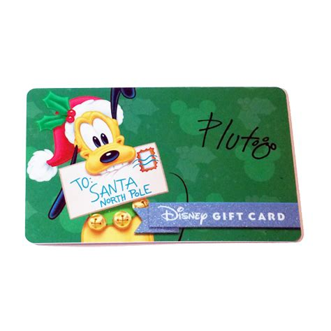 Disney Gift Card Promotion - your wdw store disney collectible gift card 2015 holiday promo pluto gift