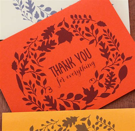 Printable Thank You For Everything Cards   printable cards say thank you for everything oh my