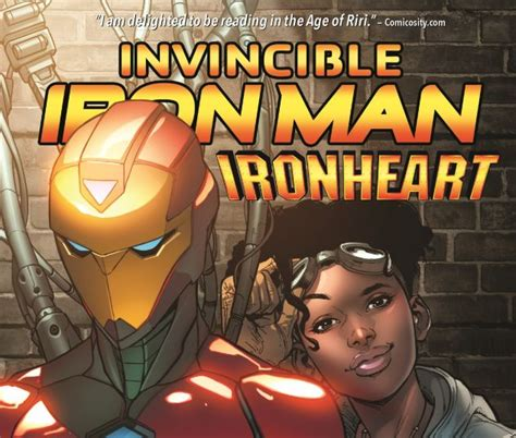 libro hero homecoming hardcover invincible iron man ironheart vol 1 riri williams hardcover comic books comics
