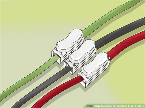 how to install outdoor light fixture how to install an outdoor light fixture with pictures