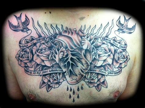 tattoo designs chest piece tattoos and designs page 80
