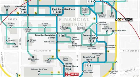 Retail Store Floor Plans by Toronto Path Releases New Map In Hopes Of Less People Getting Lost Forever Daily Hive Toronto