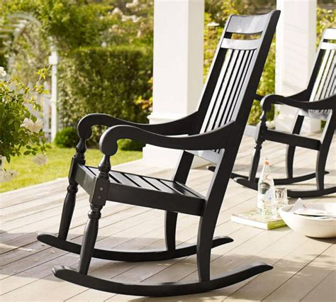 Front Patio Chairs Beautify Your Outdoors Salem Rocking Chair By Pottery Barn