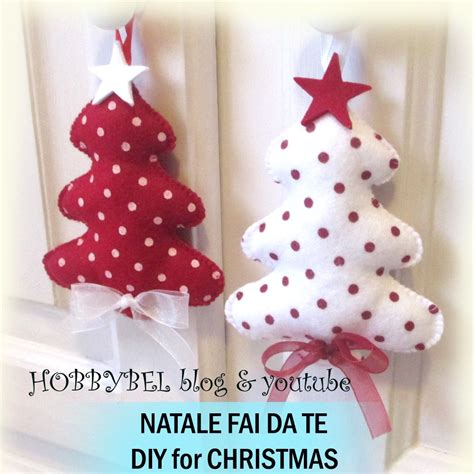 Porta Candele Natalizie Fai Da Te - addobbi natalizi in pannolenci bm81 pineglen