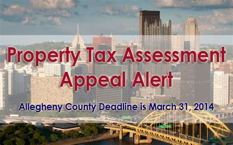 Allegheny Property Tax Records Allegheny County Property Tax Assessment Appeal Alert Mus
