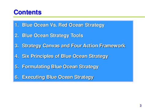 Blue Ocean Strategy Ppt Slides Blue Strategy Powerpoint