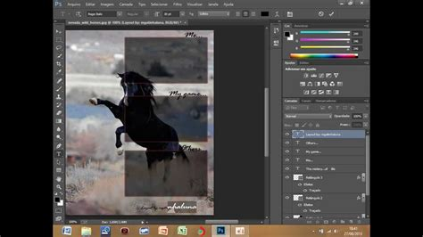 guide layout photoshop cc como fazer um layout no photoshop cc youtube