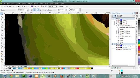how to join curves in coreldraw x6 tracing bitmap results in curves with borders coreldraw