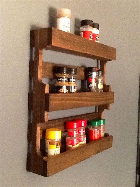Wood Pallet Spice Rack by 24 Best Spice Racks Images On Spice Racks