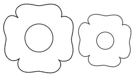 poppy template printable poppy template www imgkid the image kid has it