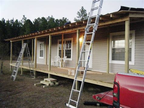 mobile home porch plans 20 best images about cabins and farmhouse porches on